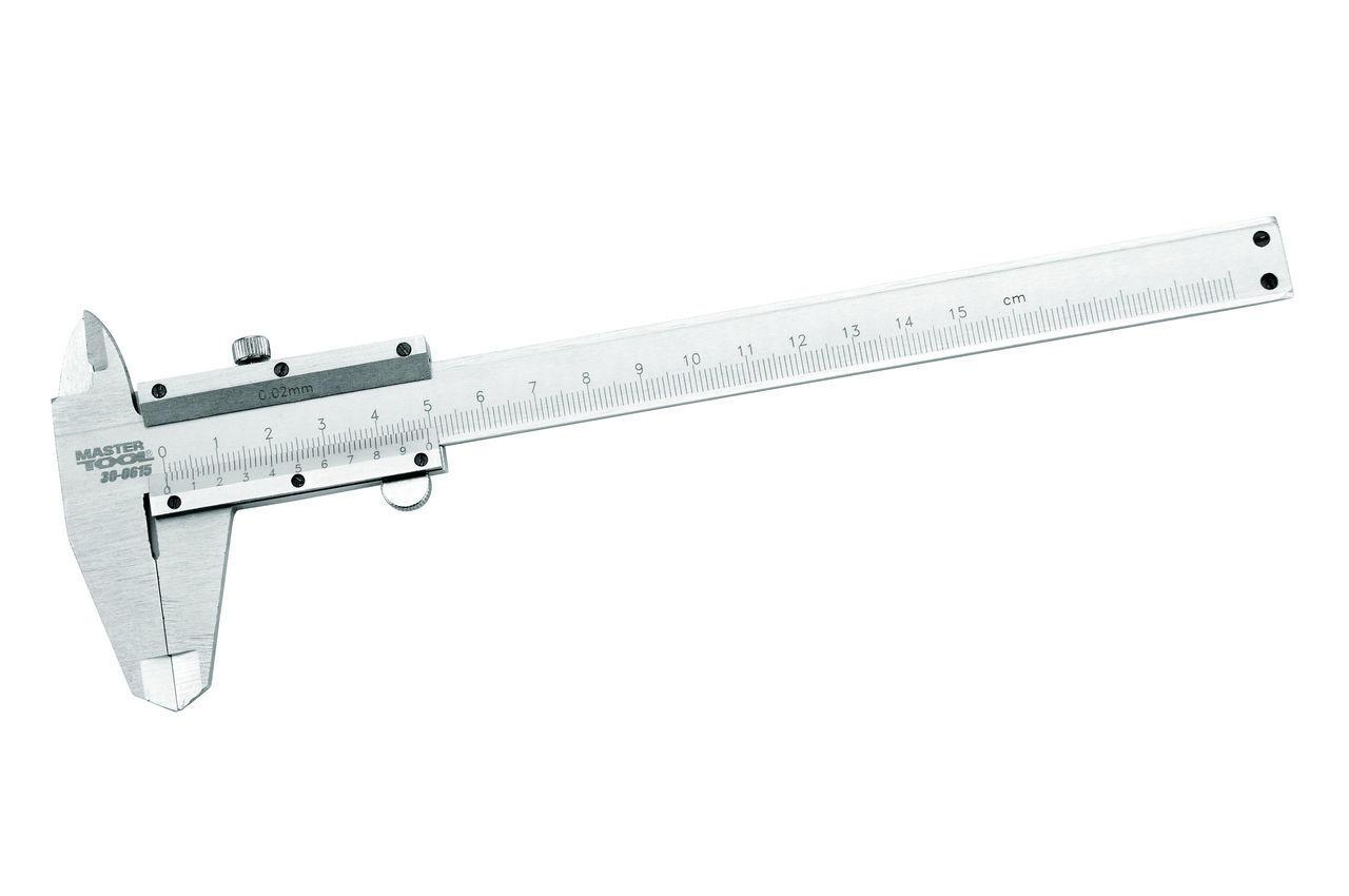 Штангенциркуль Mastertool - 150 мм, цена деления 0,02 мм