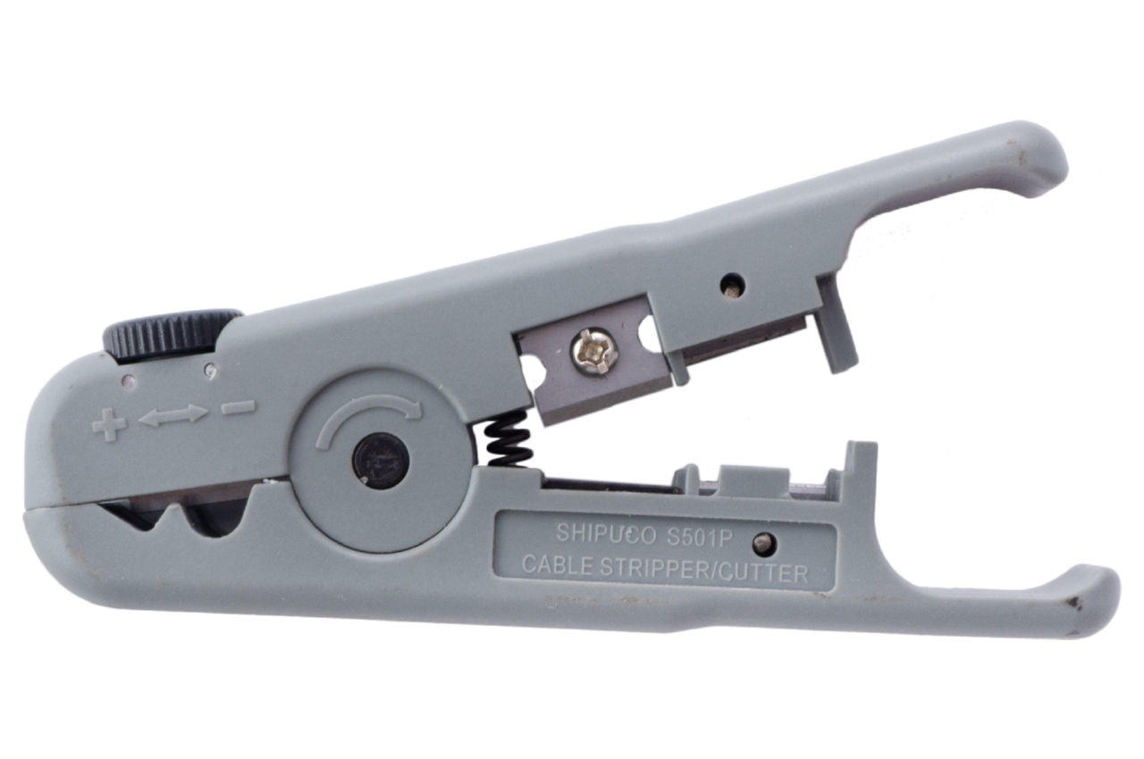 Съемник изоляциии Mastertool - 110 мм, универсальный 0,2-8 мм²