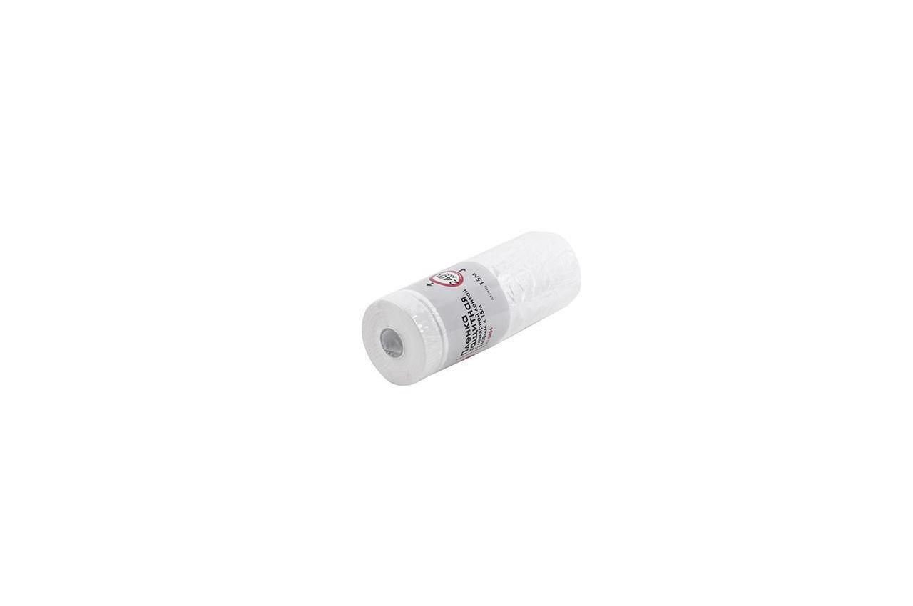 Пленка защитная с малярной лентой Intertool - 2,4 х 15 м