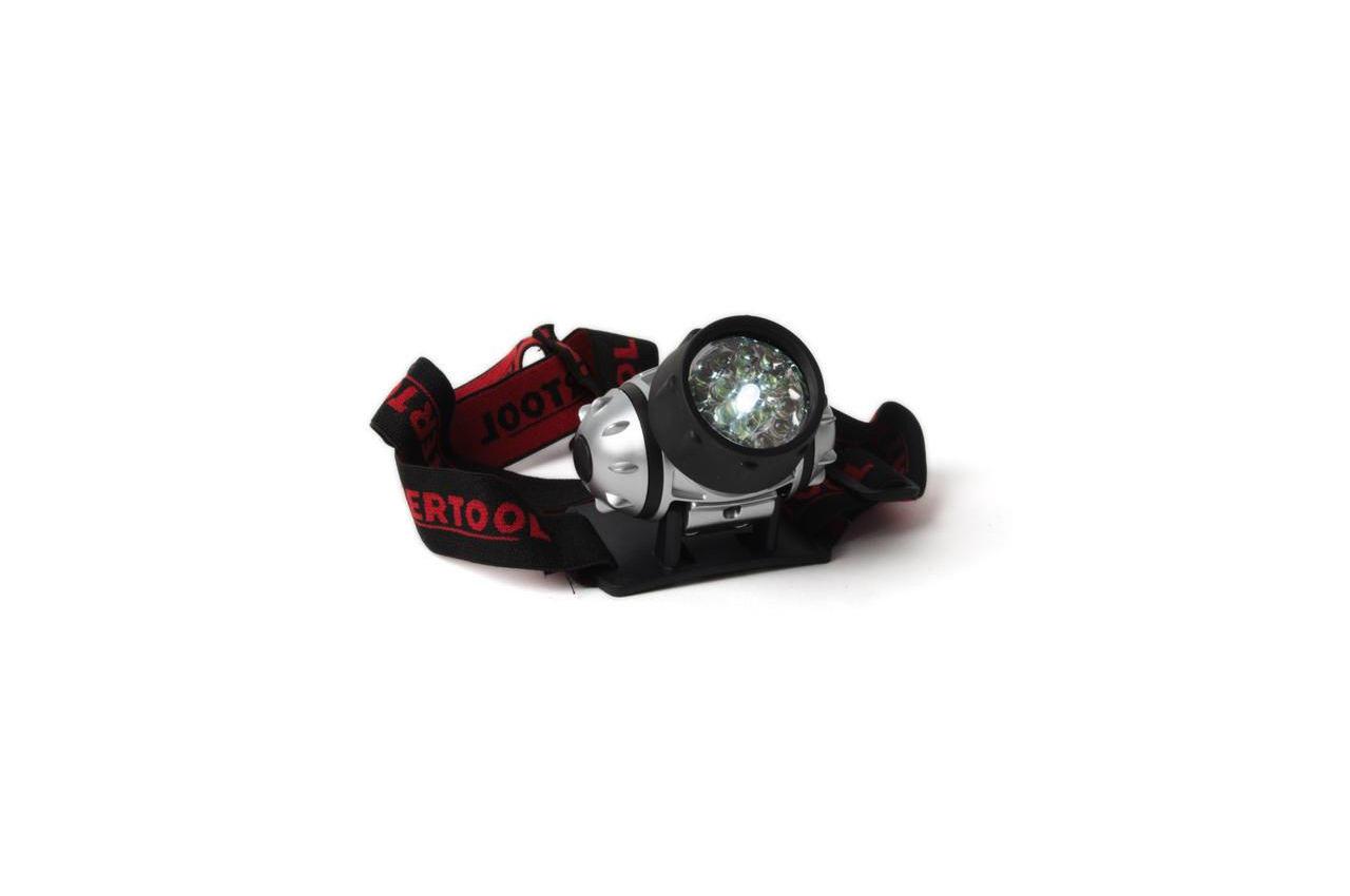 Фонарь налобный Intertool - 19 LED