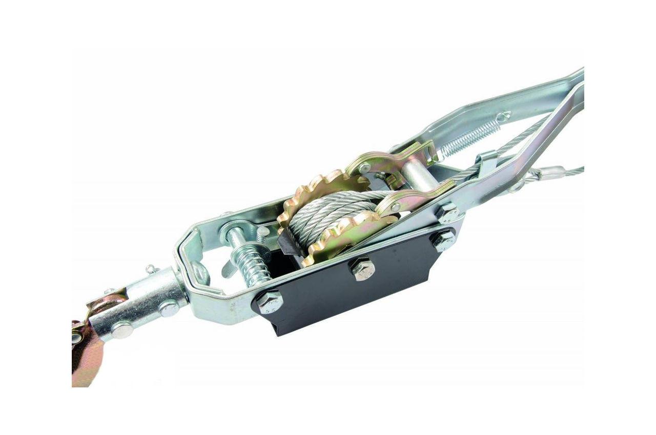 Лебедка рычажная Mastertool - 2 т, стальной трос 1,5 м