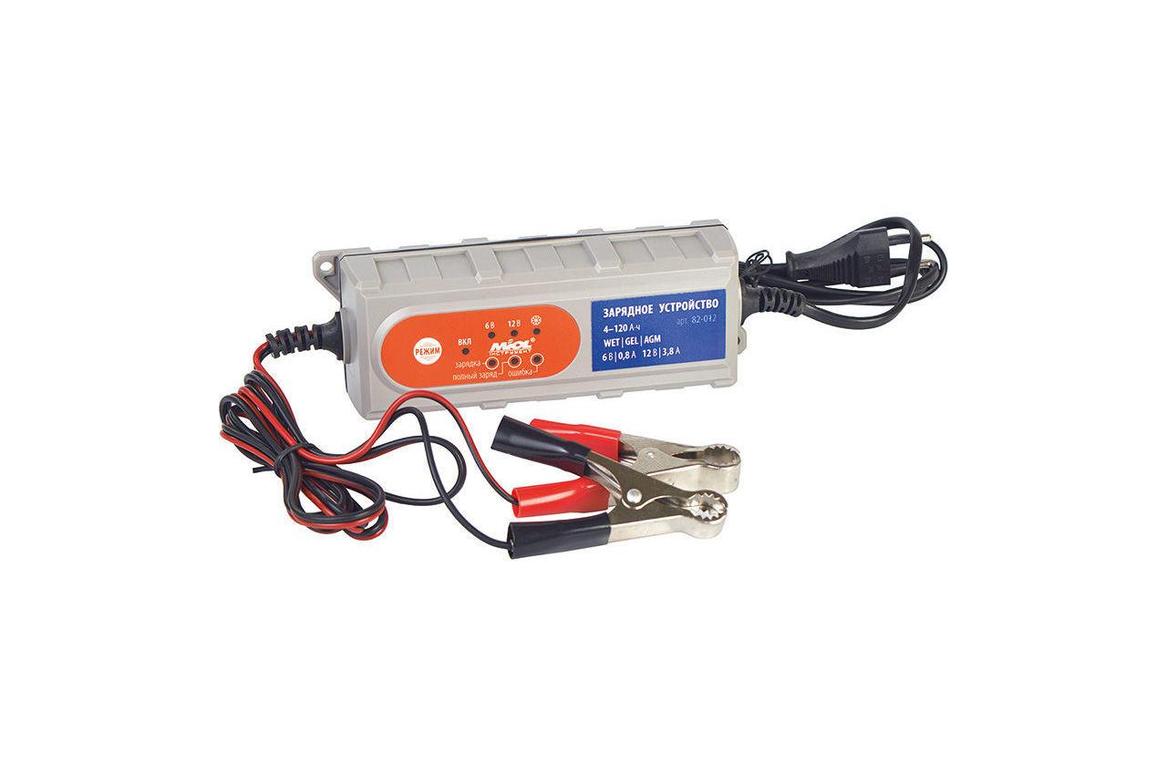 Зарядное устройство Miol - 6 - 12 В, 3,8 А, 82-012