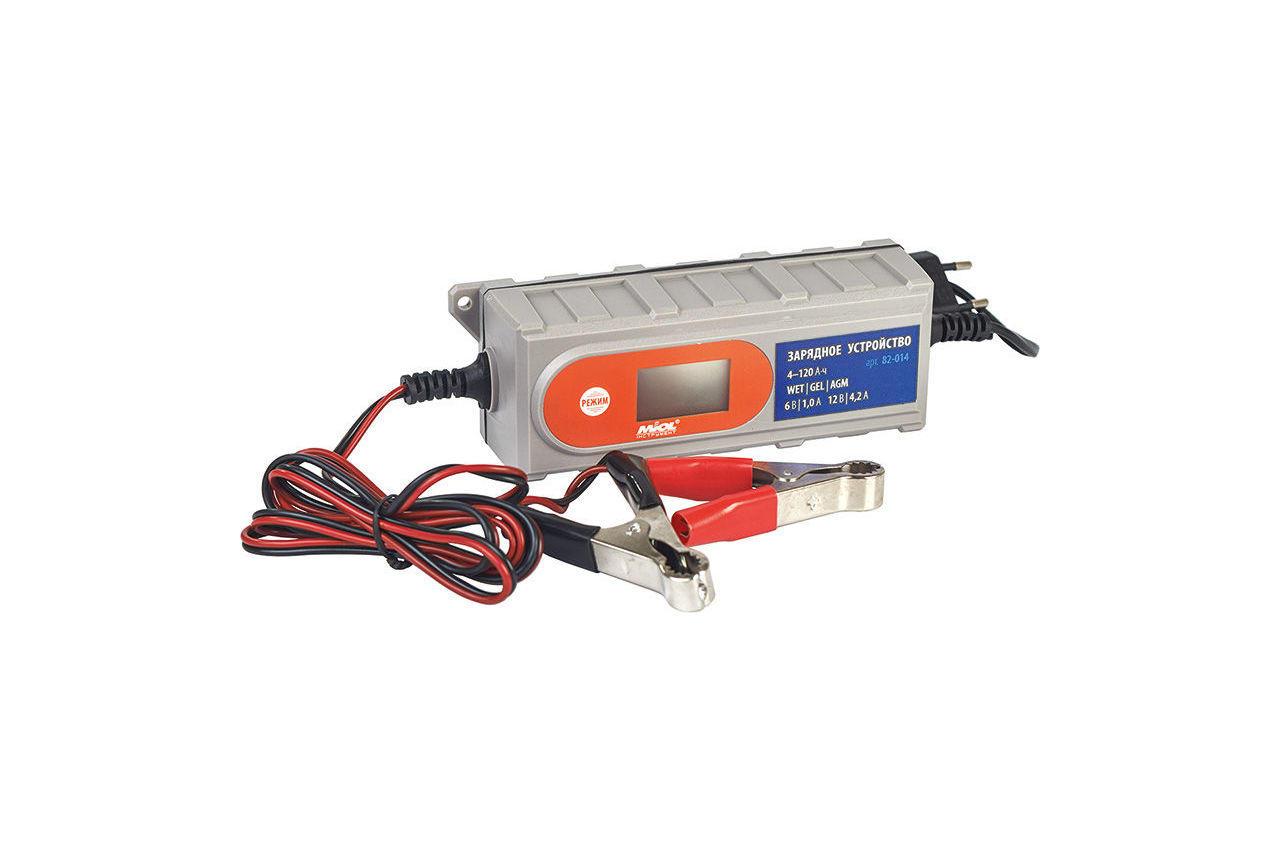 Зарядное устройство Miol - 6 - 12 В, 4,2 А, 82-014