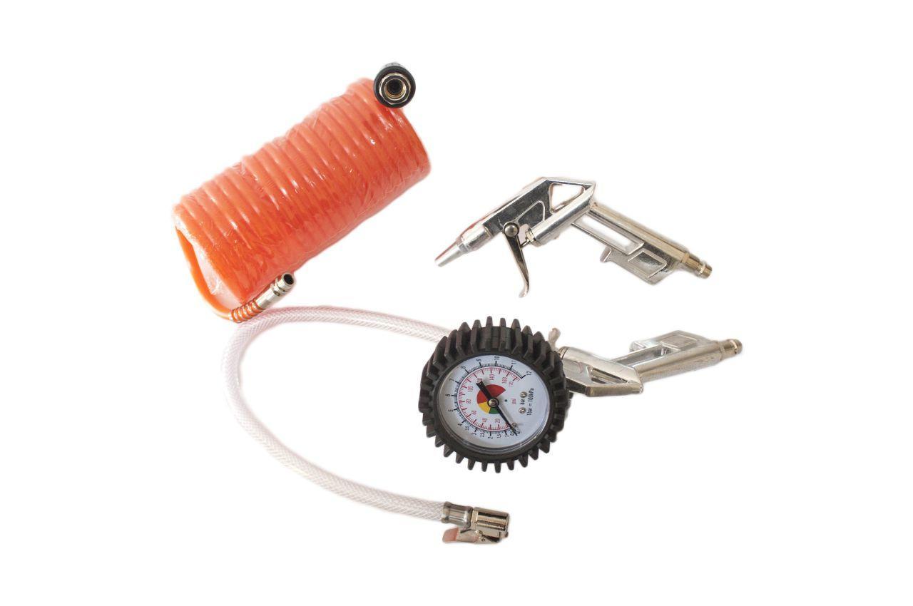 Набор для подкачки колес Einhell - 8 bar (3 шт.) Set 3