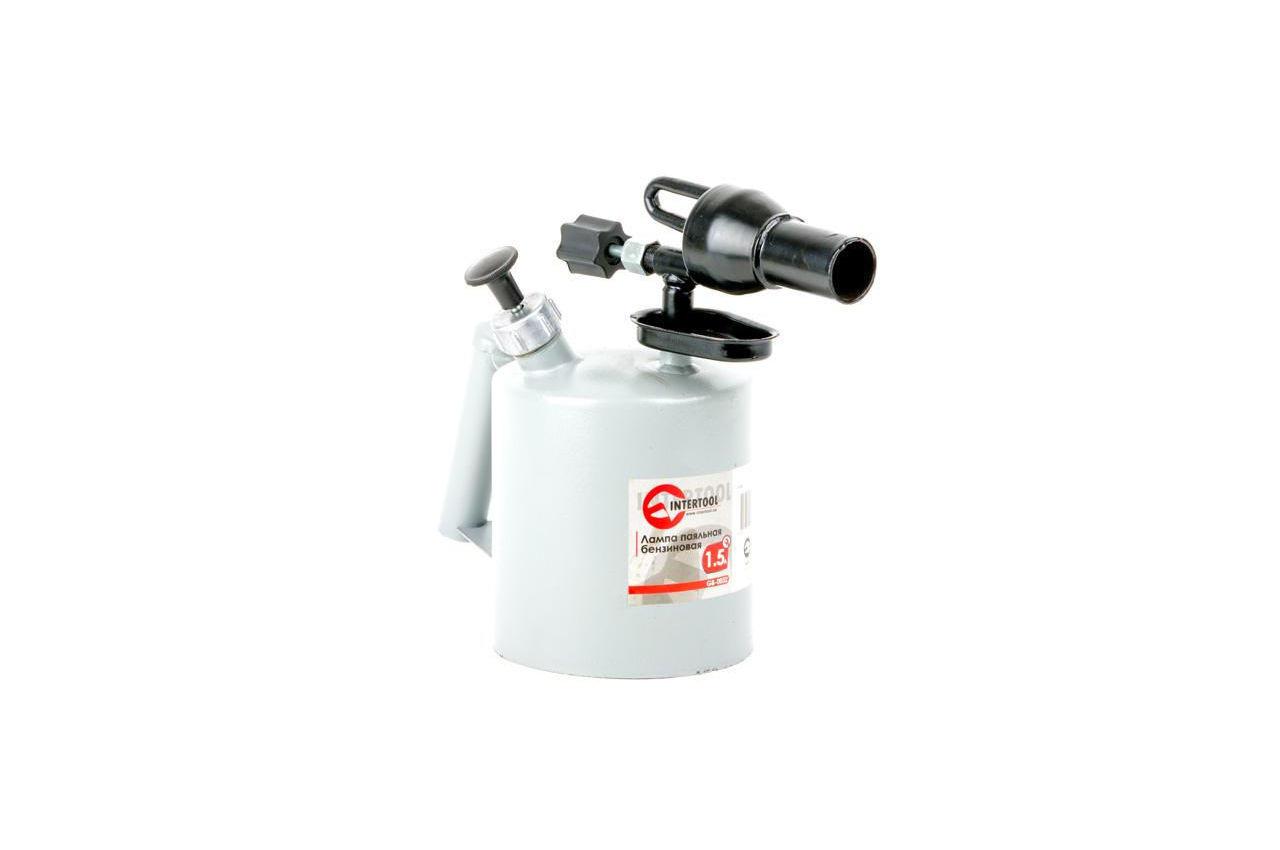 Паяльная лампа бензиновая Intertool - 1,5 л, GB-0032