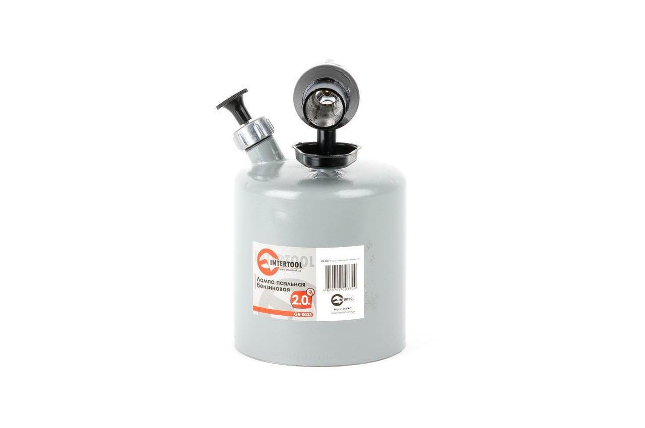 Паяльная лампа бензиновая Intertool - 2 л