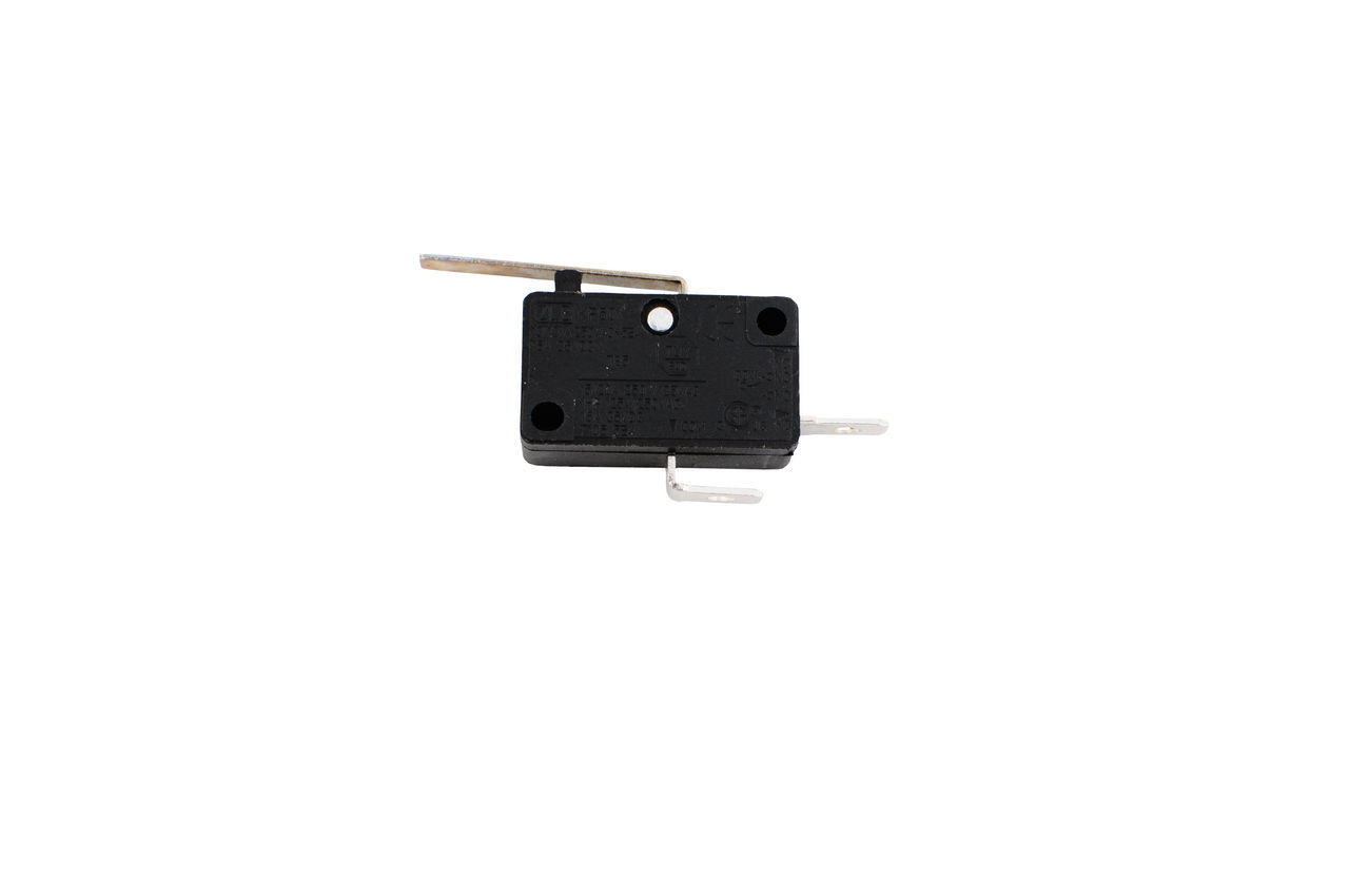 Кнопка микрик Асеса - 12А 2 контакта с планкой