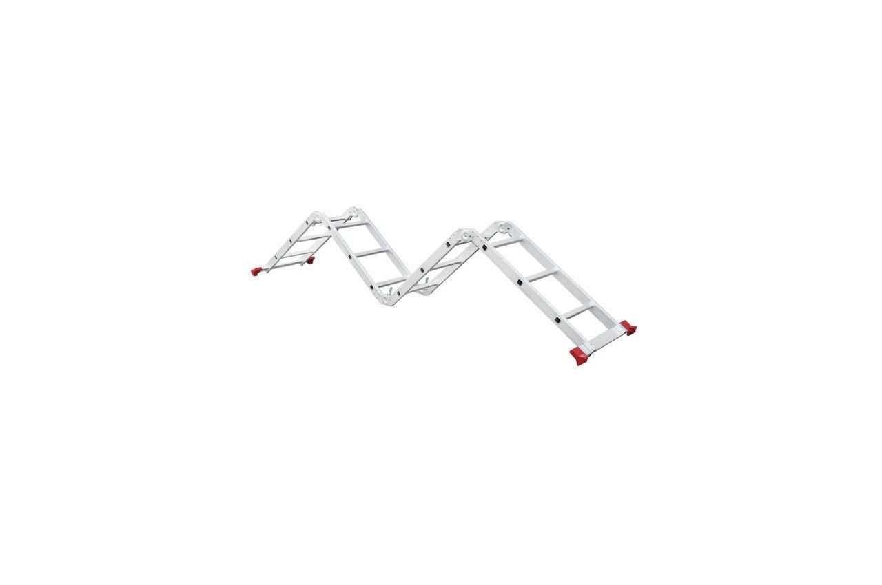 Лестница трансформер Intertool - 3700 мм х 4x3 ступеней