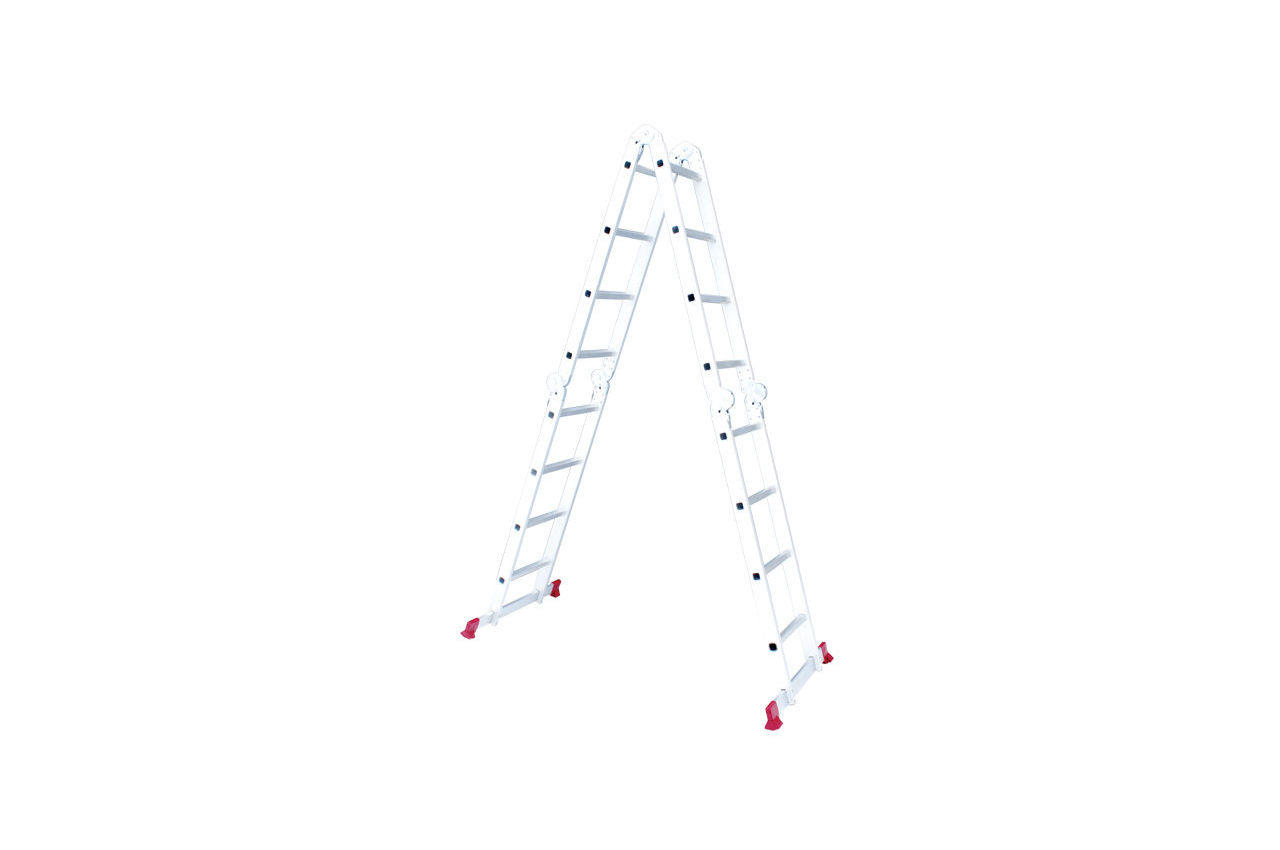 Лестница трансформер Intertool - 4750 мм х 4x4 ступеней
