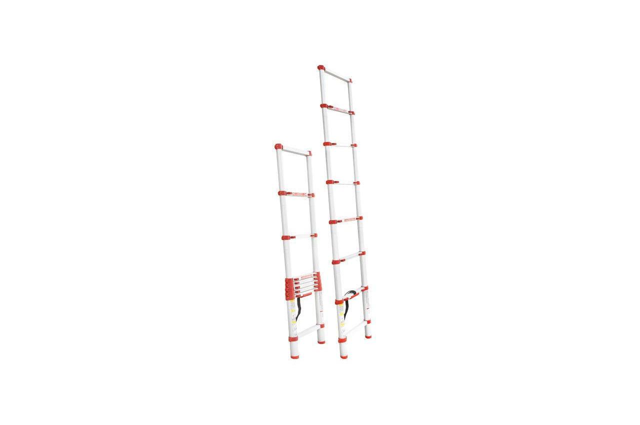 Лестница телескопическая Intertool - 2600 мм х 8 ступеней