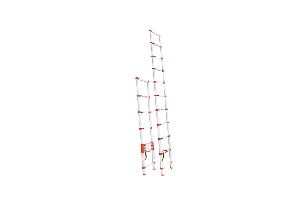 Лестница телескопическая Intertool - 3200 мм х 10 ступеней