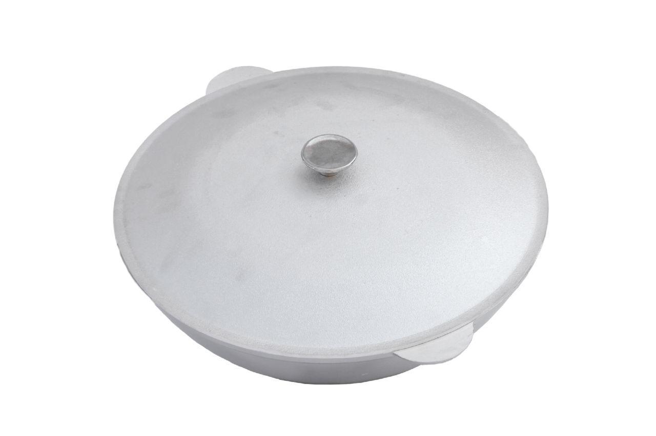 Казан алюминиевый Биол - 260 х 166 мм х 4 л, татарский с крышкой