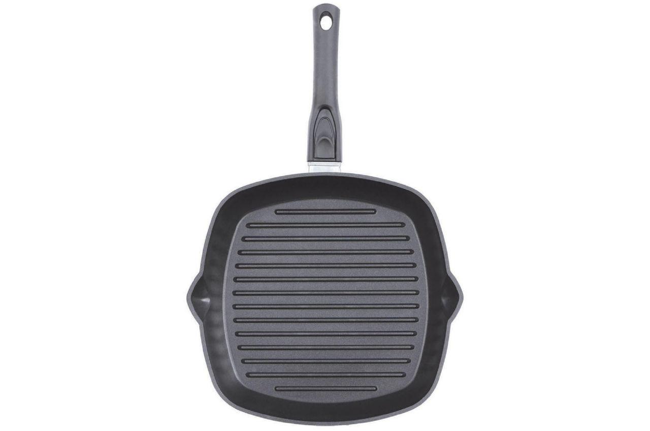 Сковорода-гриль антипригарная Биол - 260 мм