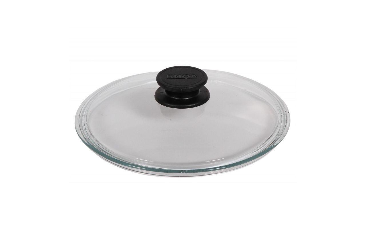 Крышка стеклянная Биол - 220 мм, низкая
