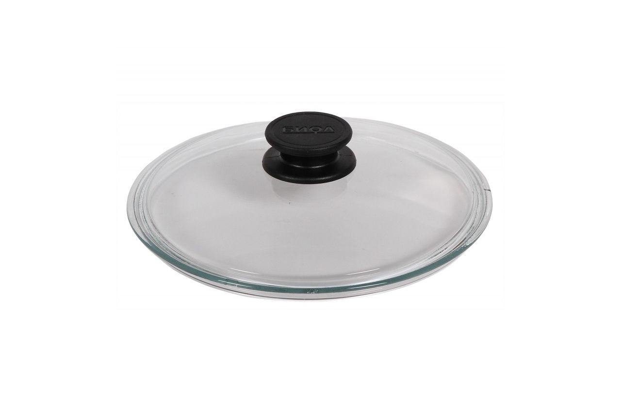 Крышка стеклянная Биол - 240 мм, низкая