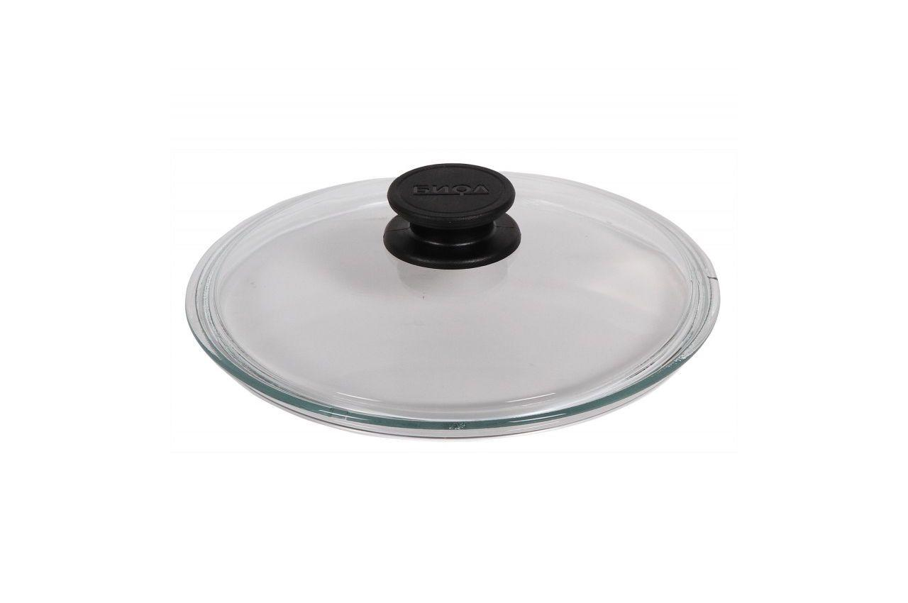 Крышка стеклянная Биол - 260 мм, низкая, НК260