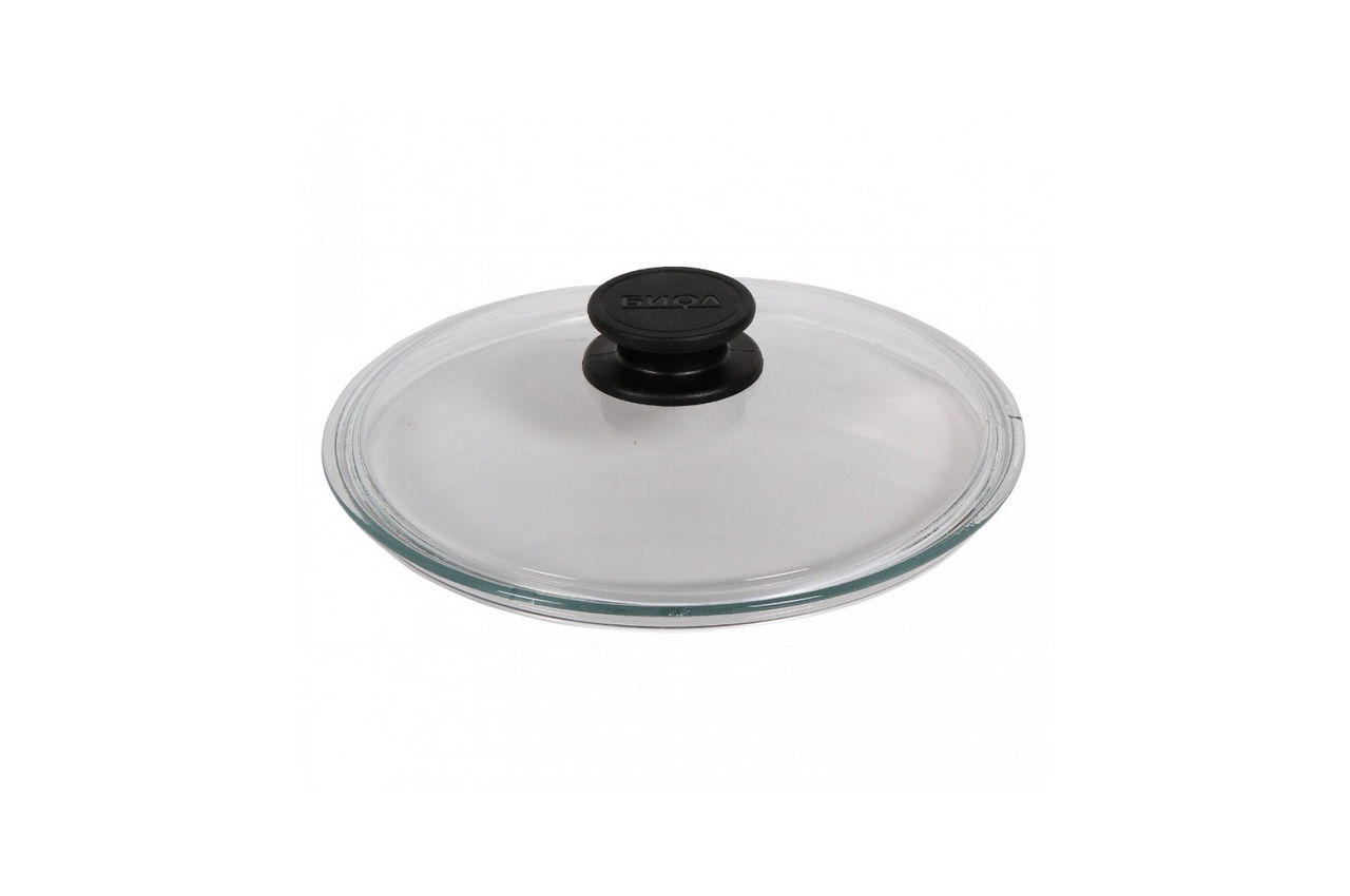 Крышка стеклянная Биол - 320 мм, низкая