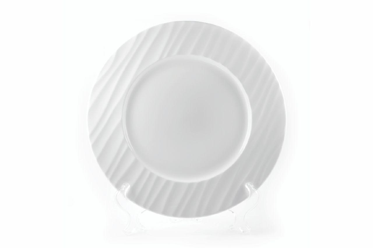 """Тарелка фарфоровая Maestro - 280 мм """"Hawaii"""" MR-10002-04, MR-10002-04"""