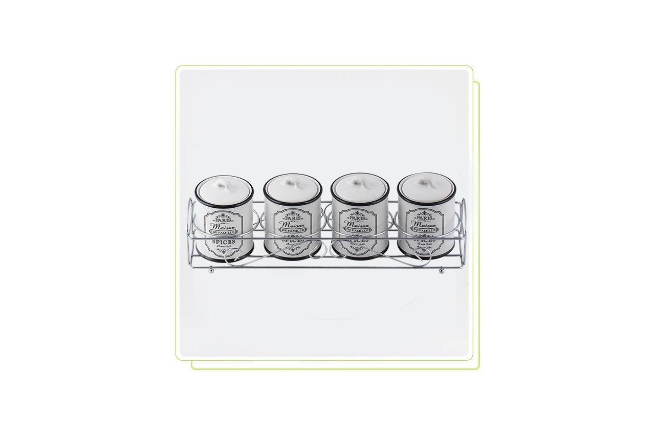 Набор для специй керамический Maestro - 5 ед. горизонтальный