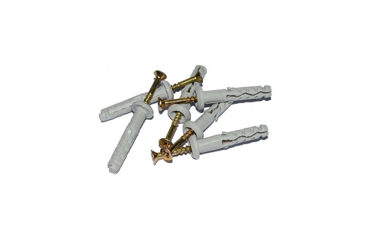 Дюбель-гвоздь Wave - 8 х 45 мм, бурт (100 шт.), x