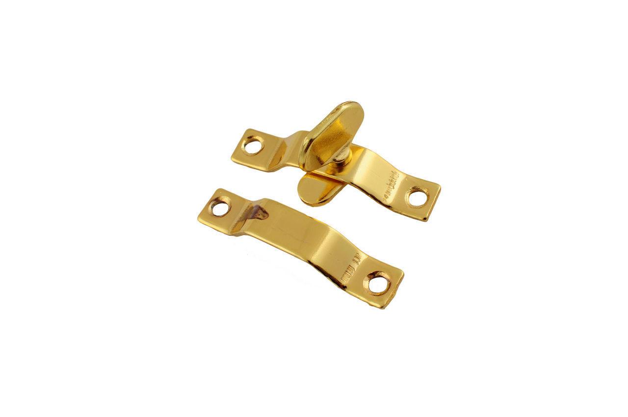 Завертка форточная FZB - маленькая РВ (золото)