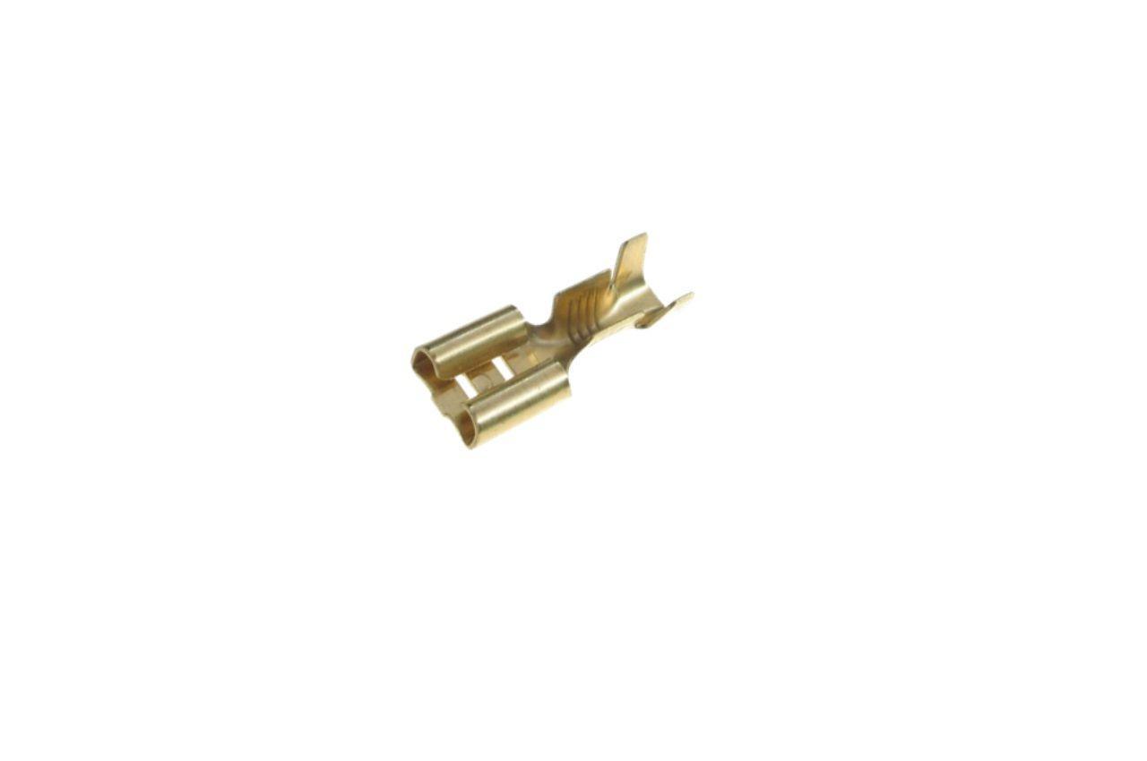 Наконечник плоский (мама) WTE - 6,3 мм x 0,75-2,5 мм² (300 шт.) AY1202