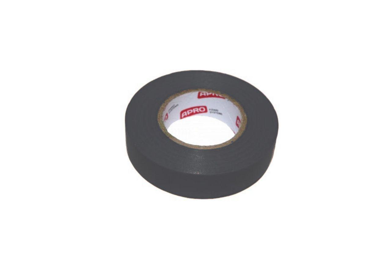 Лента изоляционная Apro - 10 м x 17 x 0,14 мм, черная 10 шт.