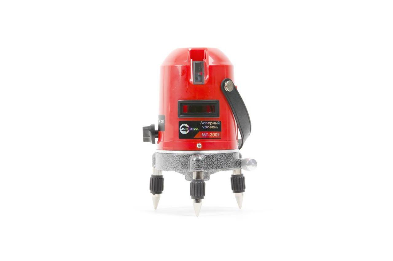Уровень лазерный Intertool - 2 лазерные головки, MT-3009