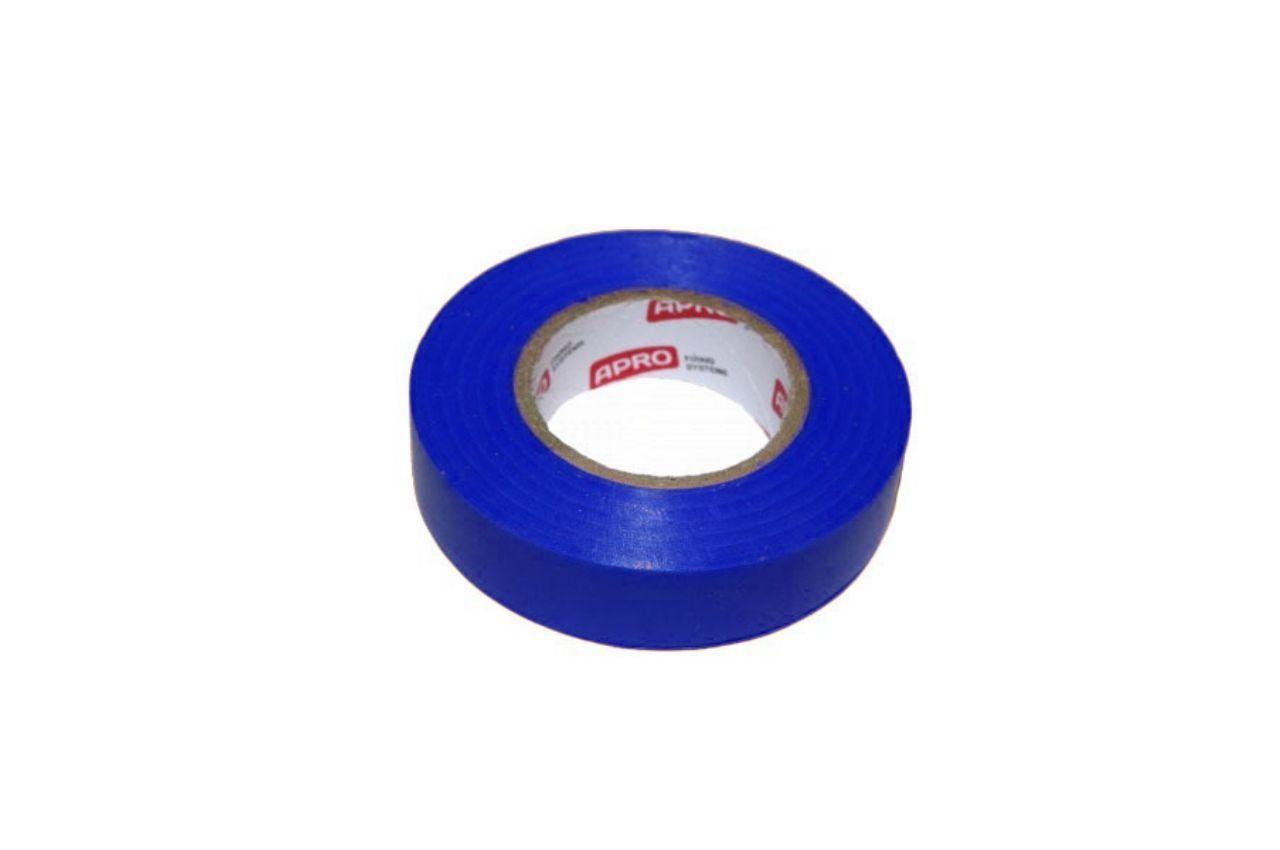 Лента изоляционная Apro - 10 м x 17 x 0,14 мм, синяя 10 шт.