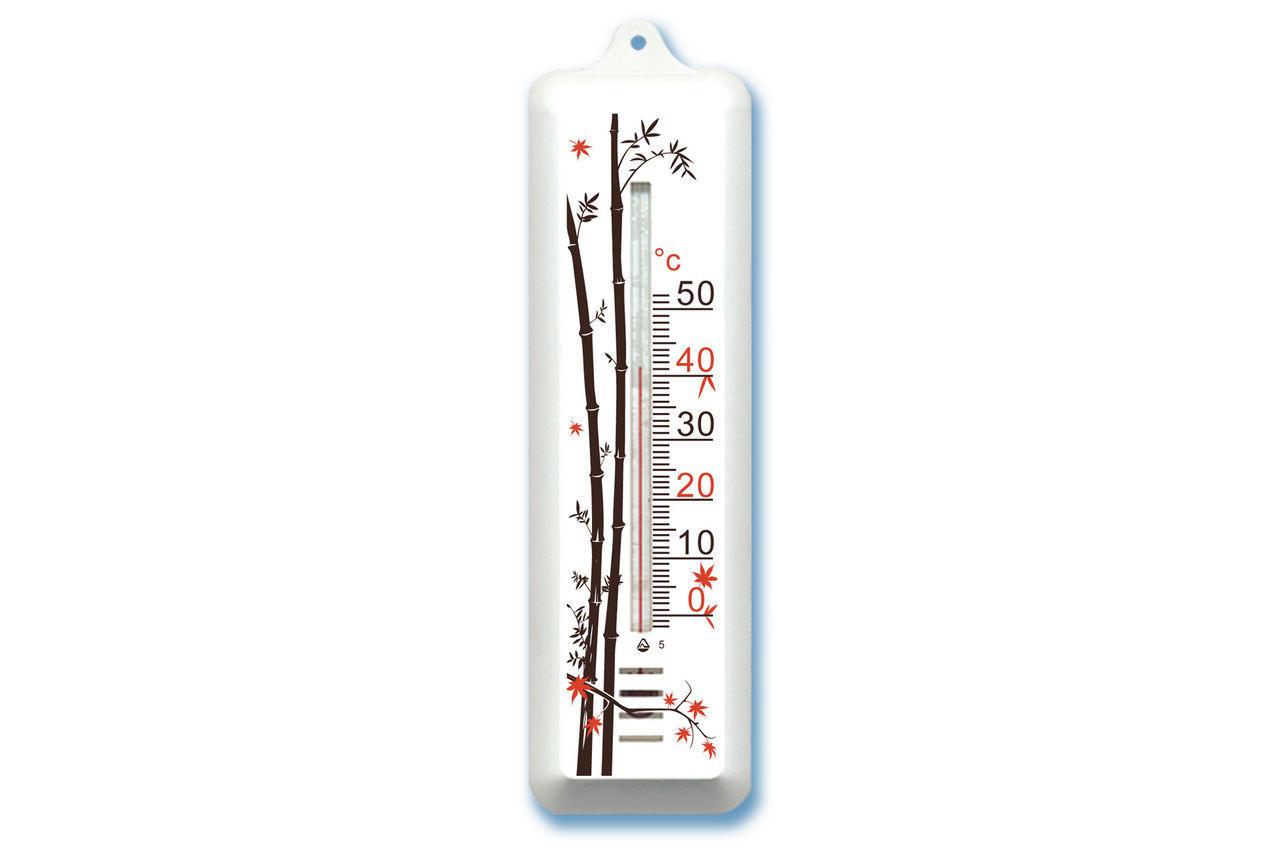 """Термометр комнатный Стеклоприбор - (0/+50°C) П-7 """"бамбук"""""""