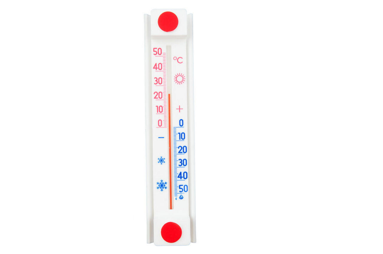 Термометр оконный Стеклоприбор - (-50/+50°C) ТБО исп 2, 300159