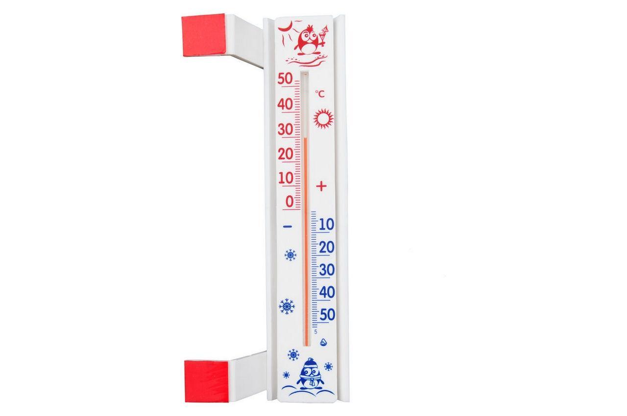 "Термометр оконный Стеклоприбор - (-50/+50°C) ТБО исп 3 ""стандарт"", 300240"