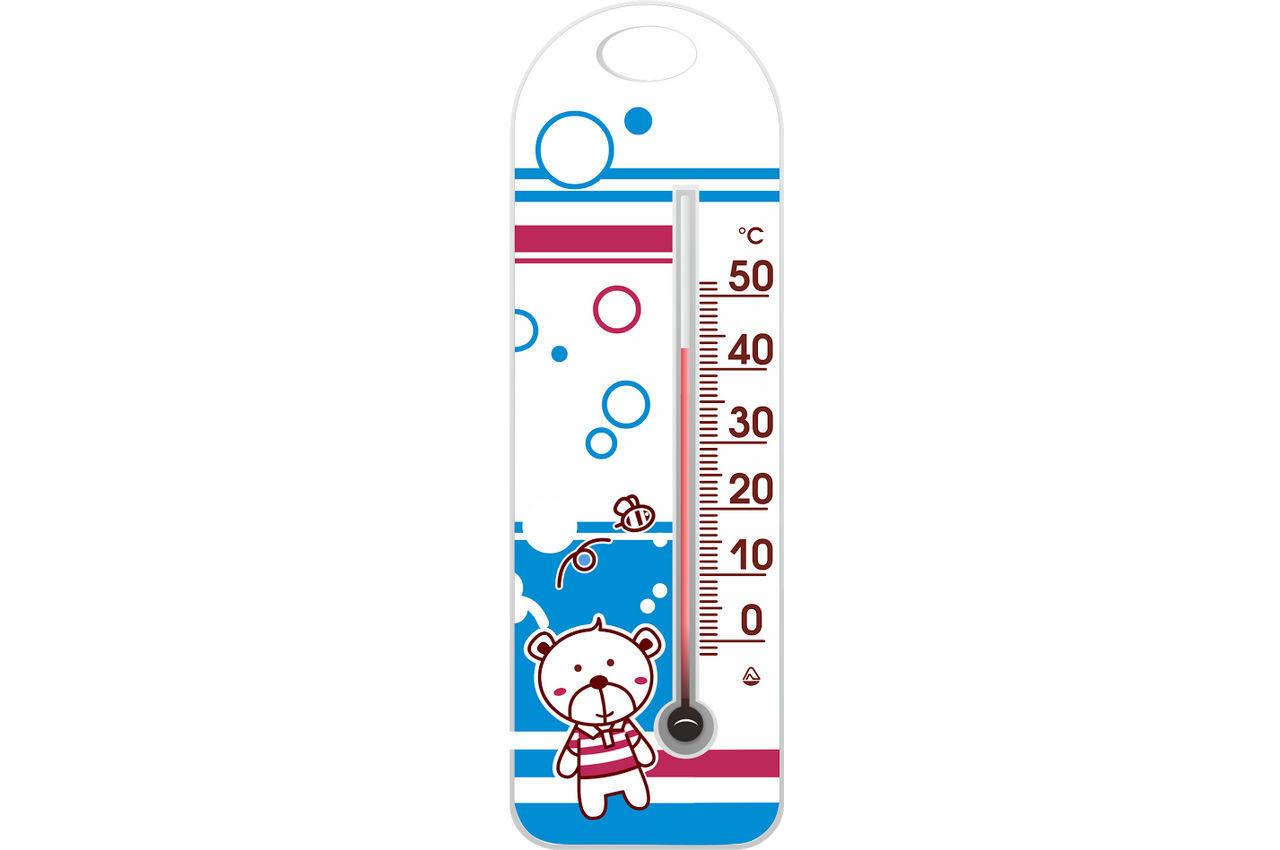 """Термометр комнатный Стеклоприбор - (0/+50°C) П-15 """"медвежонок"""""""