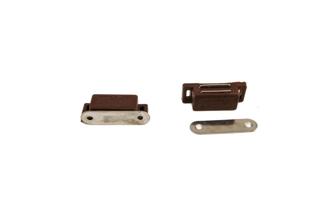 Магнит мебельный FZB - 57 мм, коричневый