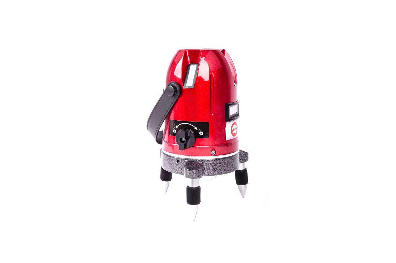 Уровень лазерный Intertool - 5 лазерных головок PROF, MT-3011
