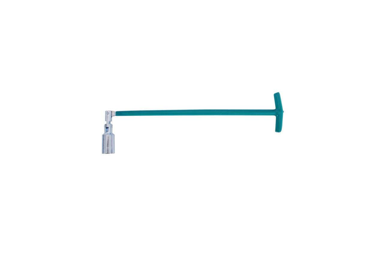 Ключ свечной Т-образный с шарниром Intertool - 21 x 500 мм, HT-1723