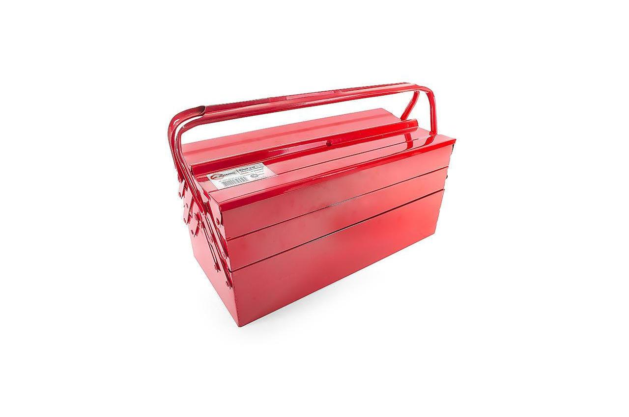 Ящик для инструмента Intertool - 450 мм x 3 секции, металлический HT-5043