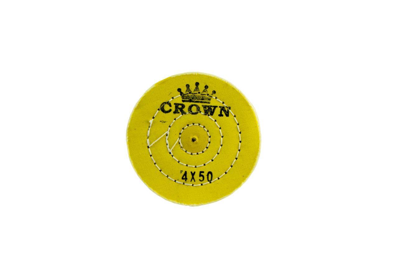 Круг полировальный муслиновый Pilim - 100 мм, желтый