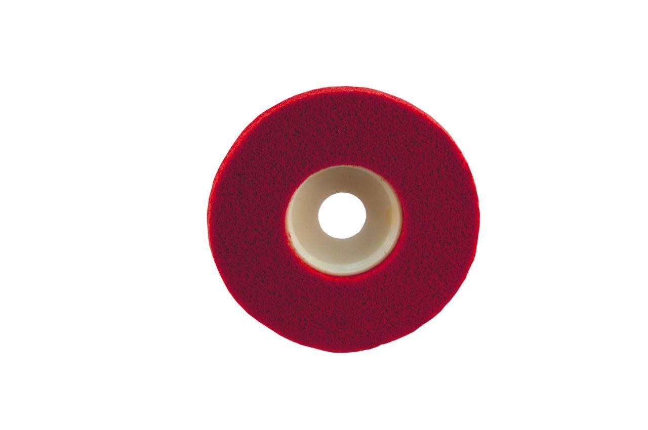 Вспененный абразив на платформе Pilim - 125 x 10 мм x P120, красный
