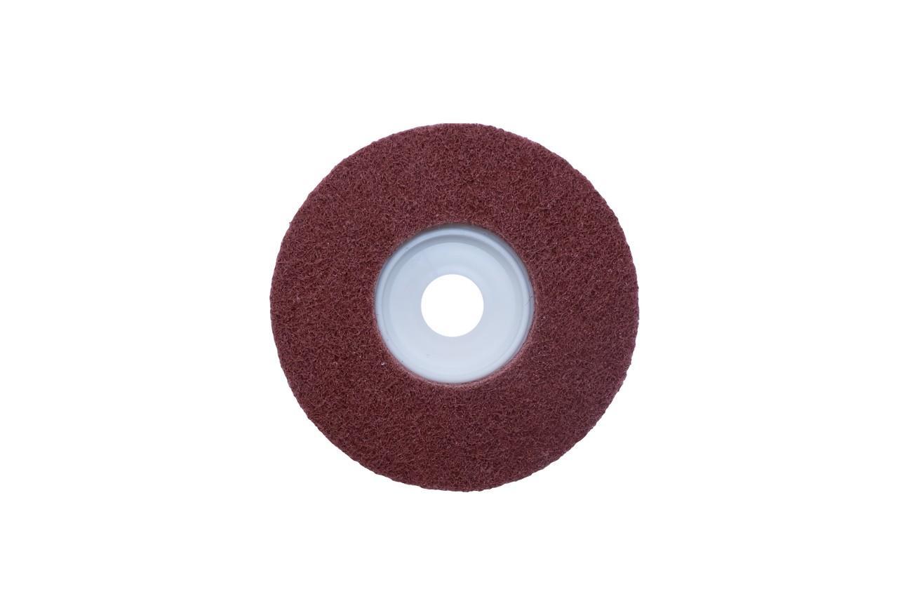 Вспененный абразив на платформе Pilim - 125 x 10 мм x P80, бордовый