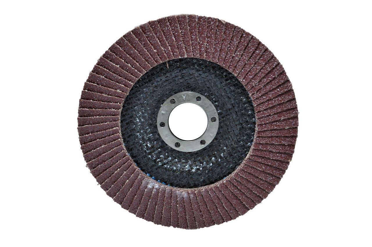 Круг лепестковый торцевой Housetools - 125 мм x Р150, изогнутый, 62K115