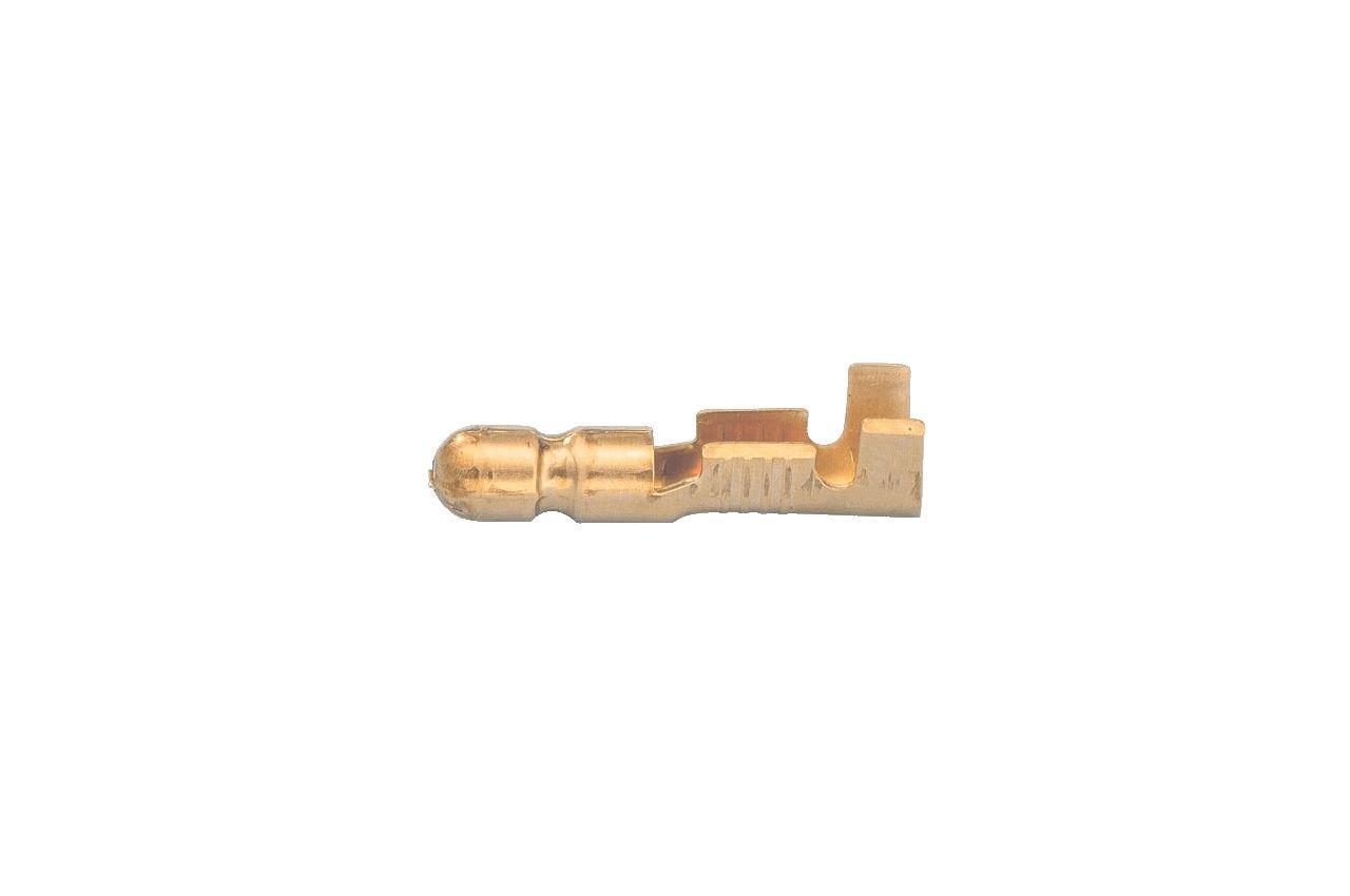 Наконечник круглый (папа) WTE - 4 мм x 1-2 мм² (300 шт.) AY1801