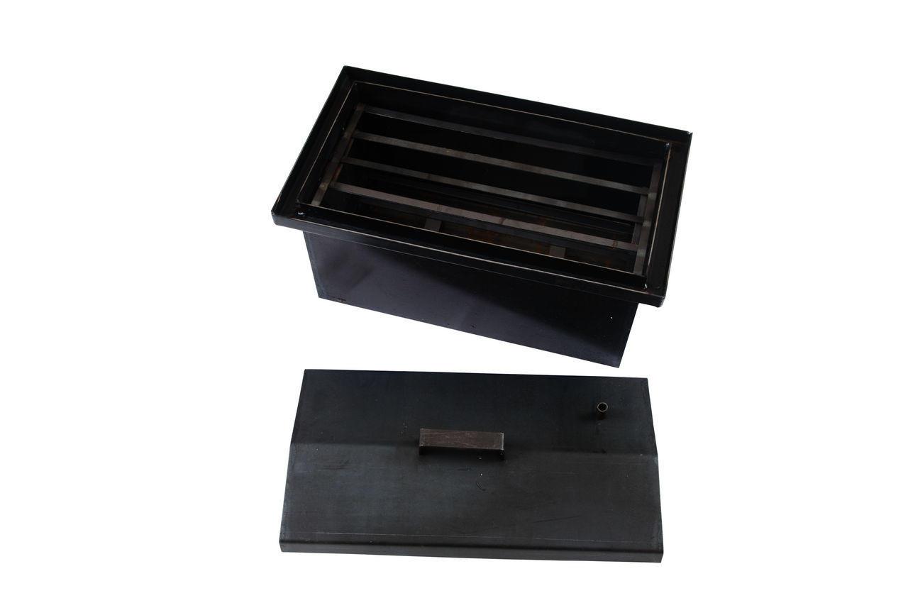 Коптилка DV - 200 x 400 x 200 мм, горячекатаная
