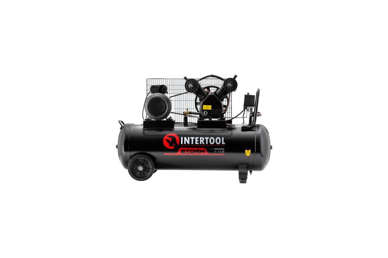 Компрессор Intertool - 100 л x 3000 Вт Storm