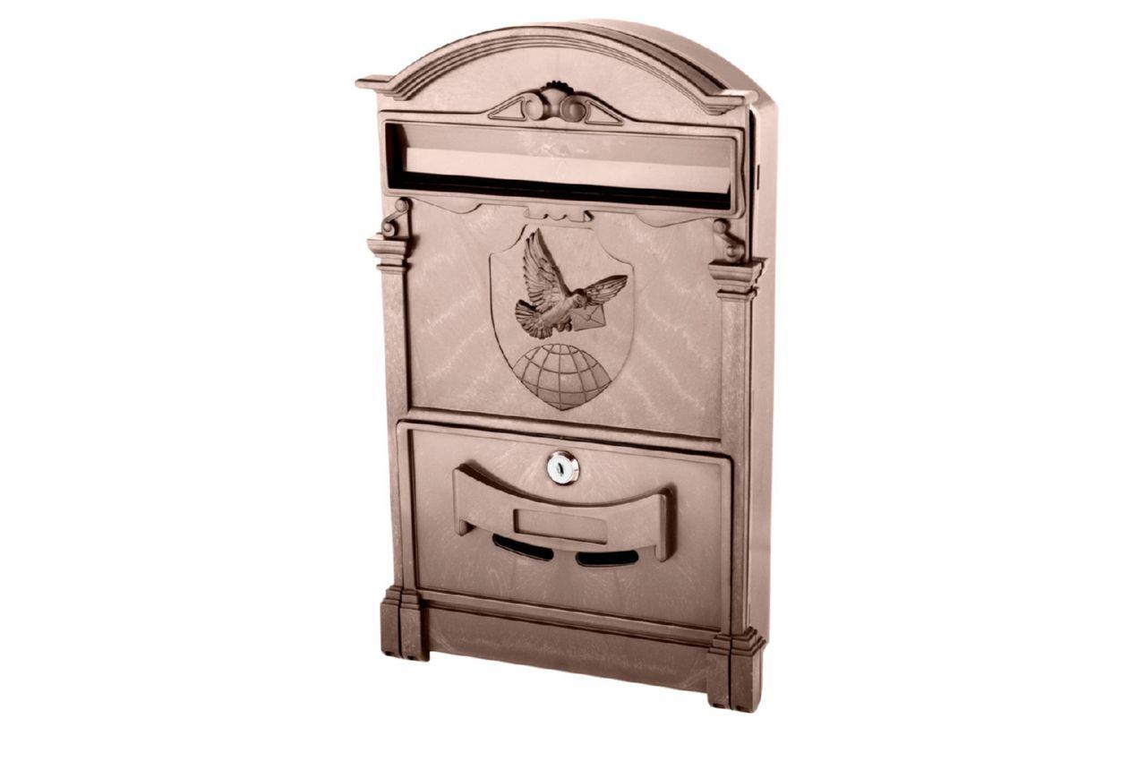Почтовый ящик Vita - голубь (коричневый)