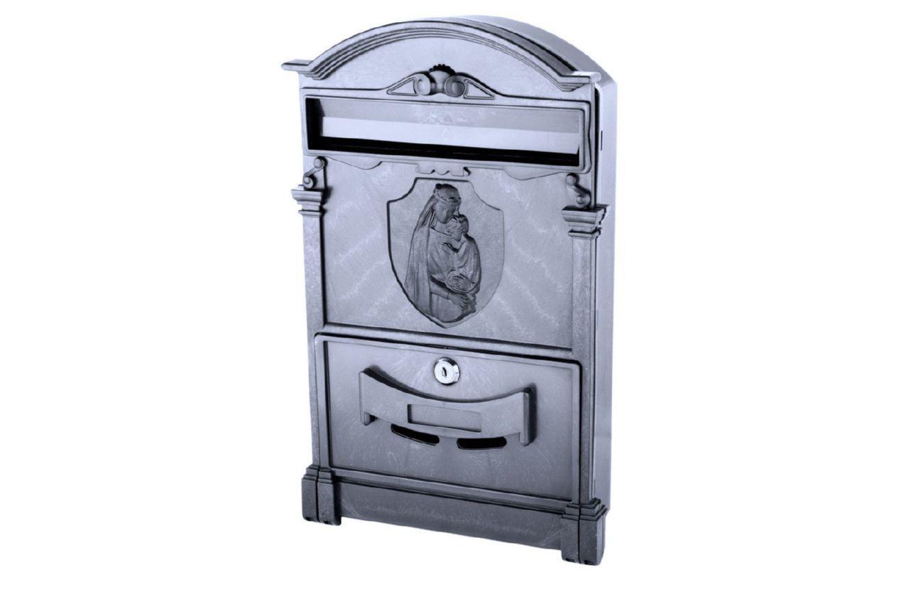 Почтовый ящик Vita - Дева Мария (черный)