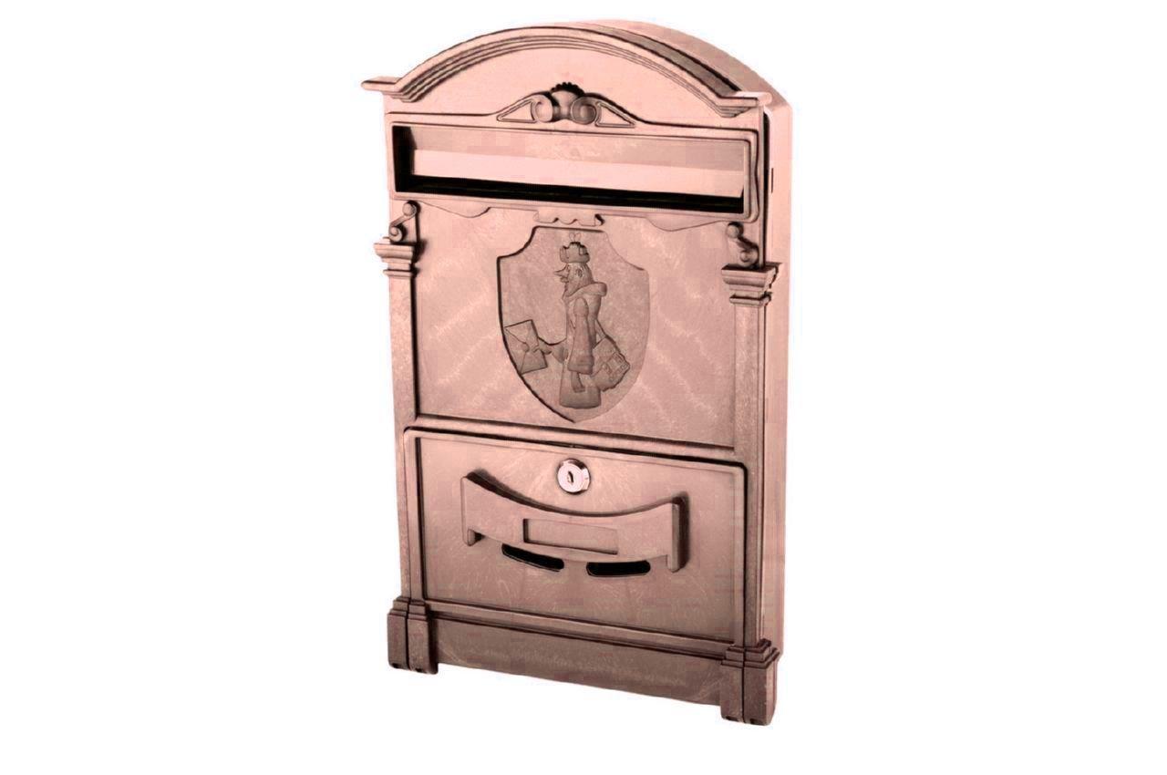 Почтовый ящик Vita - Почтальон Печкин (коричневый)