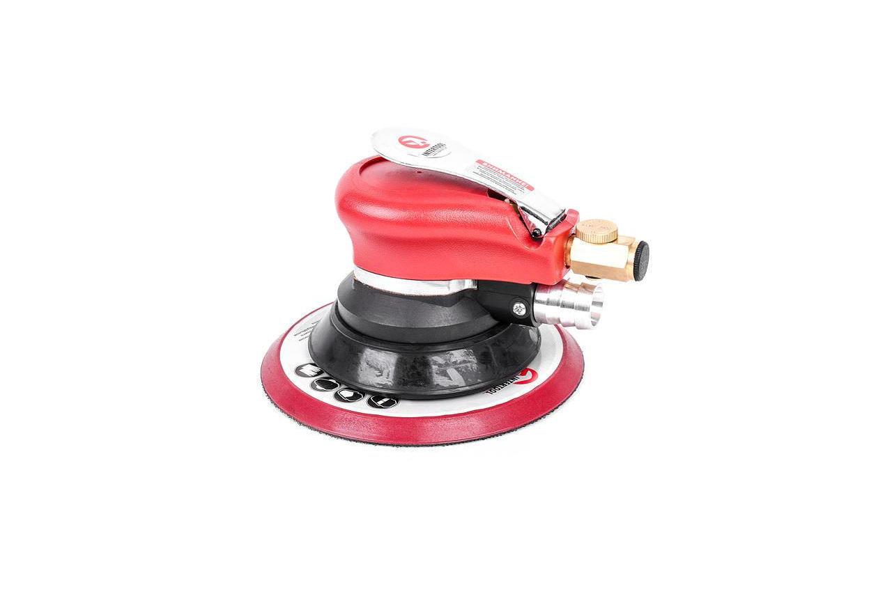 Шлифмашина эксцентриковая пневматическая Intertool - 150 мм