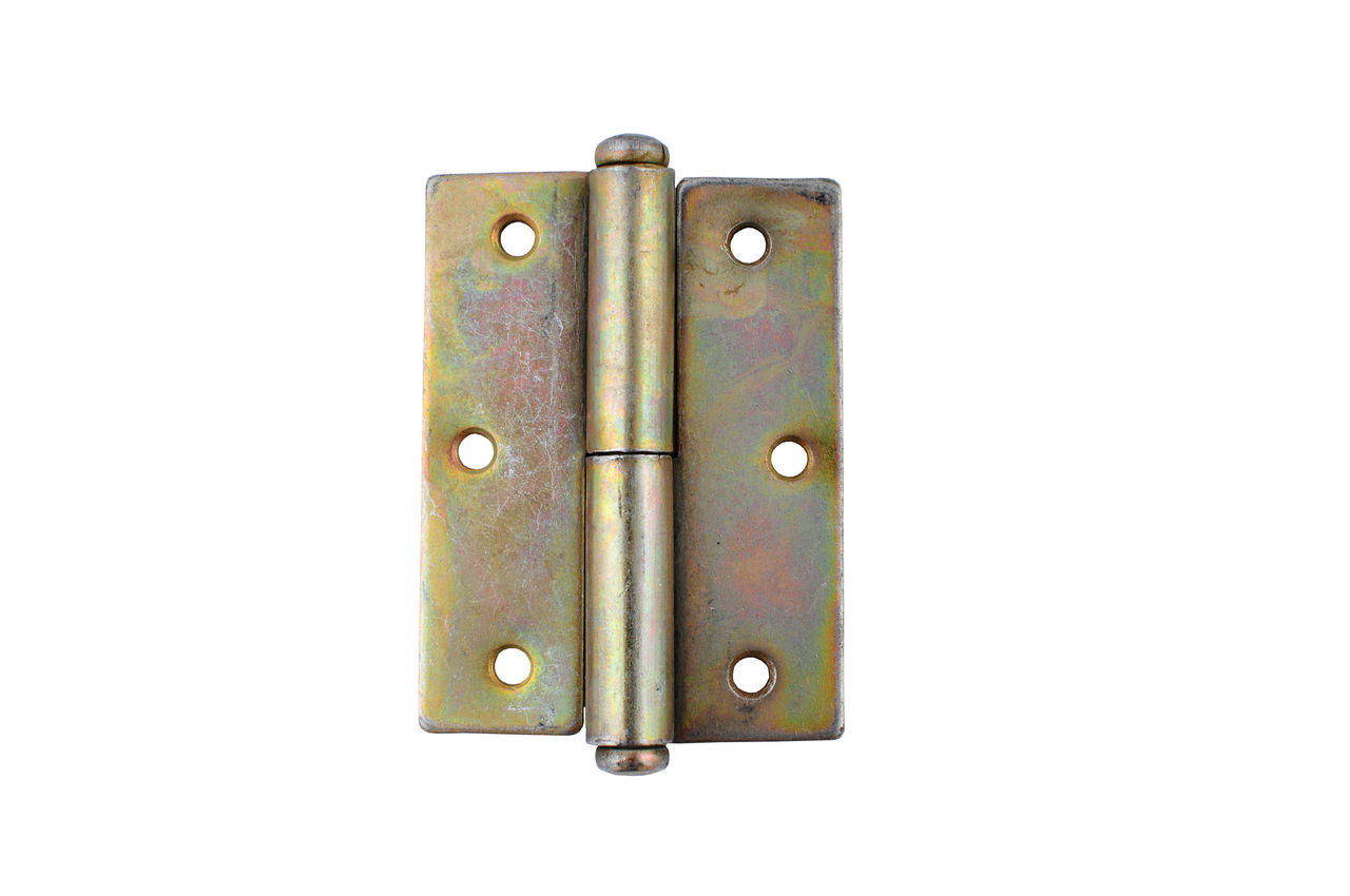 Петля Никифоров - 85 мм, квадратная левая оцинкованная