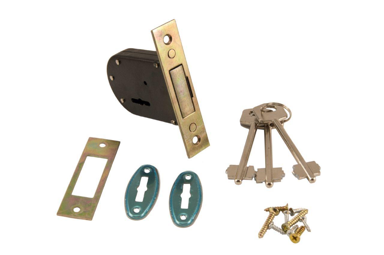 Замок врезной FZB - 700 CP 3 ключа